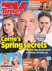 TV Times issue 24th February 2018