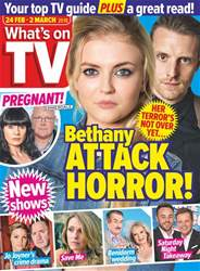What's on TV issue 24th February 2018
