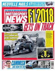 Motorsport News issue 21st February 2018