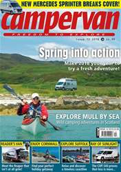 Campervan - the Spring into Action Issue issue Campervan - the Spring into Action Issue