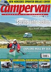 Campervan Magazine Cover