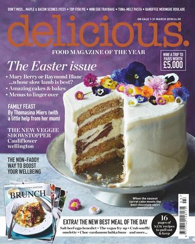 Delicious Magazine issue March 2018