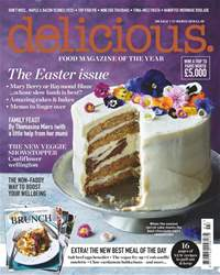 Delicious Magazine issue March 2018