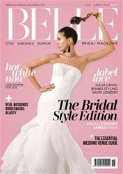 Belle Bridal Magazine issue SS18 NE EDITION