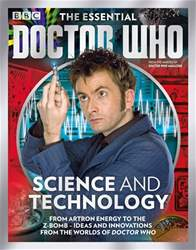 The Essential Doctor Who 13: Science and Technology issue The Essential Doctor Who 13: Science and Technology
