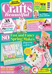 Crafts Beautiful issue Apr-18