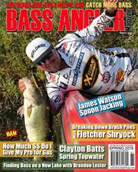 BASS ANGLER MAGAZINE issue Spring 2018