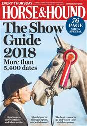 Horse & Hound issue 22nd February 2018