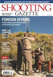 Shooting Gazette issue March 2018