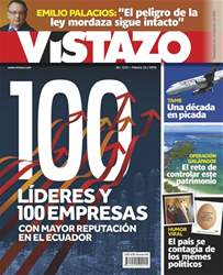 Revista Vistazo issue VISTAZO 1212