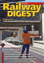 Railway Digest issue March 2018