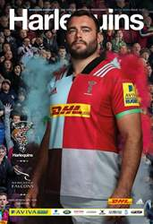 Harlequins V Newcastle Falcons · Match 13 issue Harlequins V Newcastle Falcons · Match 13