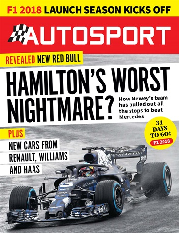 Autosport issue 22nd February 2018