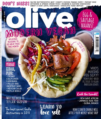 Olive Magazine issue March 2018