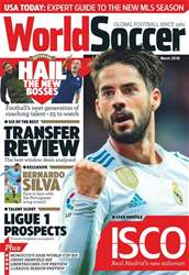 World Soccer issue March 2018