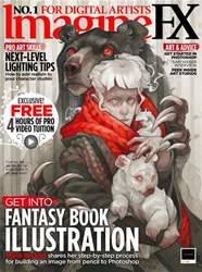 ImagineFX issue April 2018