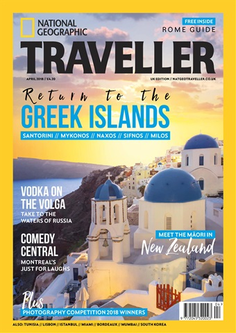 National Geographic Traveller (UK) issue April 2018