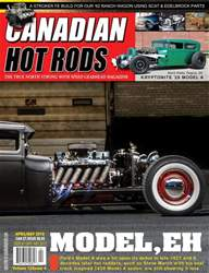 Canadian Hot Rods issue CHR april/may 2018
