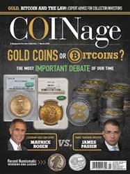 COINage issue March 2018