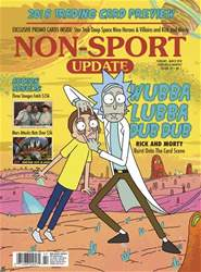 Non-Sport Update Magazine Cover