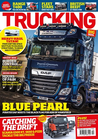 Trucking Magazine issue April 2018