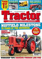 Tractor & Farming Heritage Magazine issue April 2018