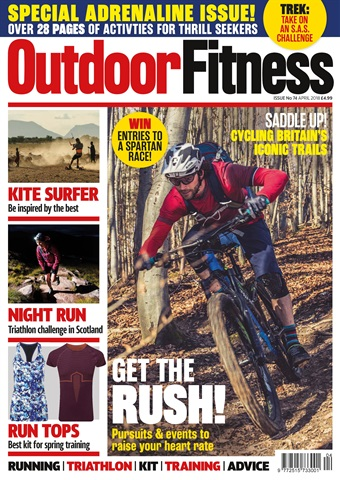 Outdoor Fitness issue April 2018