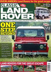 Classic Land Rover Magazine issue   April 2018