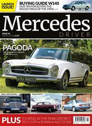 Mercedes Driver Magazine Cover