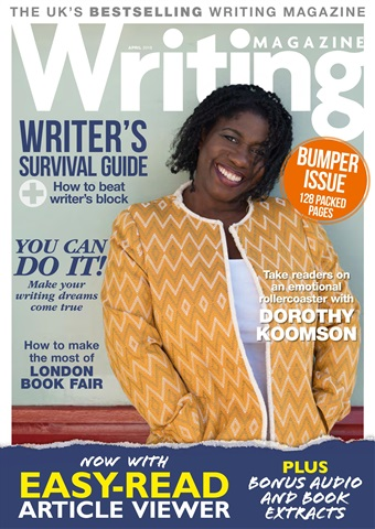 Writing Magazine issue April 2018