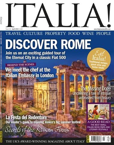 Italia! issue Apr-18