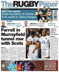The Rugby Paper issue The Rugby Paper