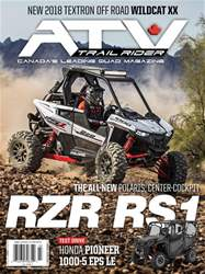 ATV Trail Rider issue MarsAvril 2018