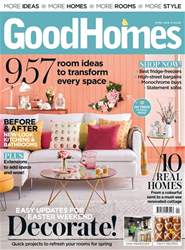 GoodHomes Magazine issue April 2018
