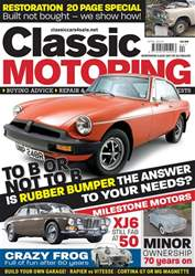 Classic Motoring issue Apr-18