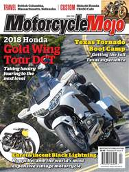Motorcycle Mojo issue Apr-18