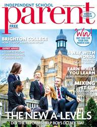 Independent School Parent issue Senior Spring 2018