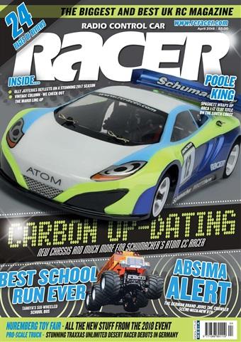 Radio Control Car Racer issue April 2018