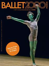 BALLET2000 Édition France Magazine Cover