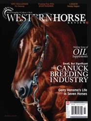 Western Horse Review issue March April Western Horse Review