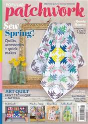 Popular Patchwork Magazine issue Apr-18