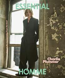 Essential Homme issue Spring 2018