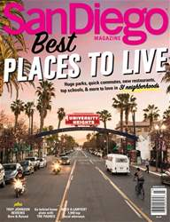 San Diego Magazine issue Best Places to Live