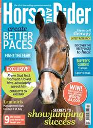 Horse&Rider Magazine - UK equestrian magazine for Horse and Rider issue Horse&Rider Magazine – April 2018