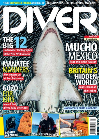 DIVER issue APRIL 2018