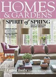 Homes & Gardens issue April 2018