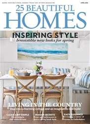 25 Beautiful Homes issue April 2018