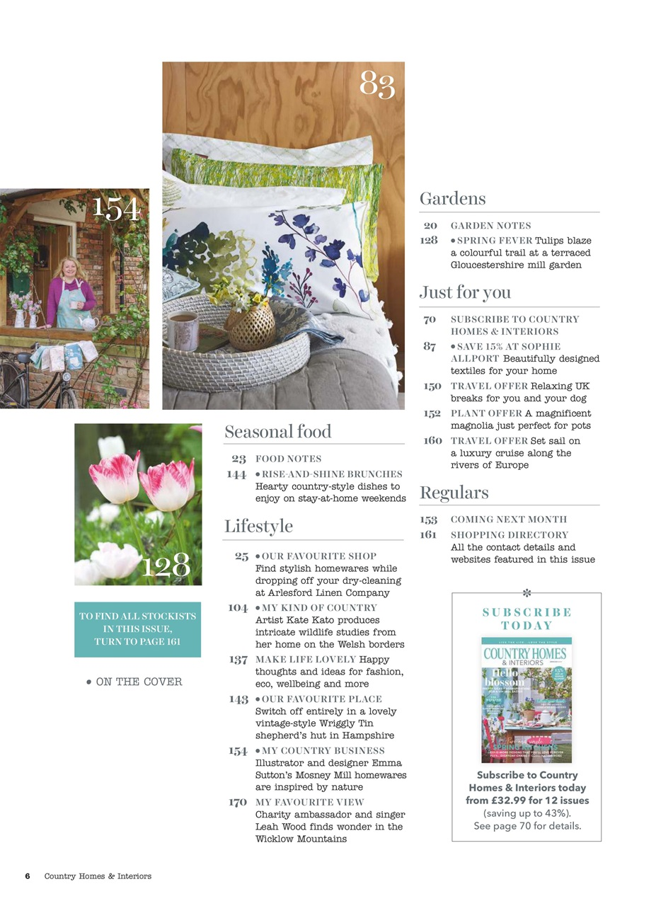 Country Homes Interiors Magazine April 2018