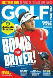 Golf Monthly issue April 2018