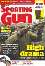 Sporting Gun issue April 2018